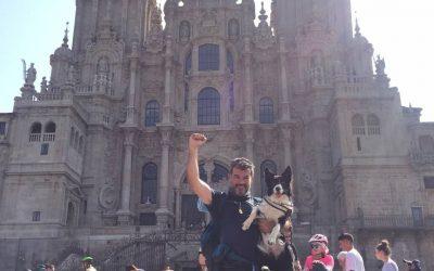HELGA con Andrés. Familia sevillana, de Utrera.
