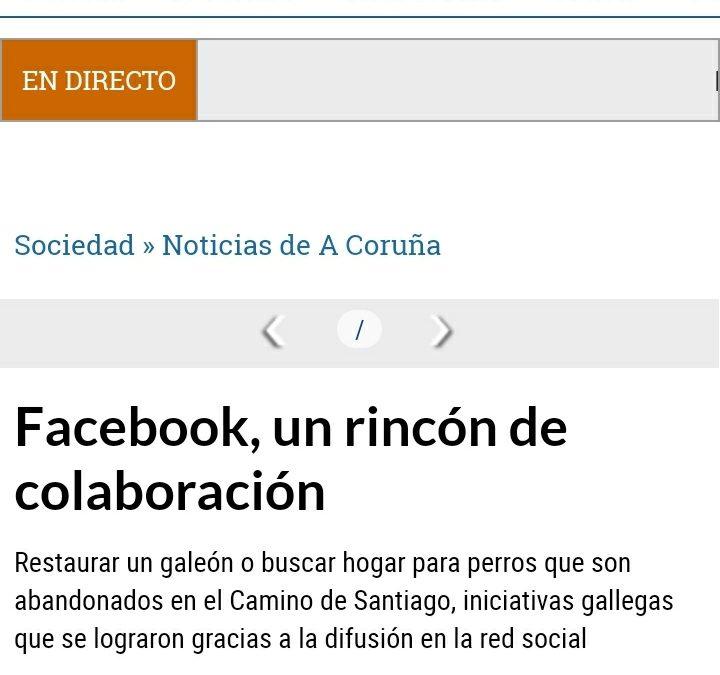 Facebook, un rincón de colaboración
